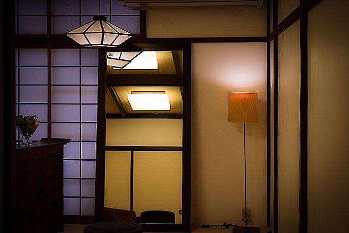 花倉の明かり
