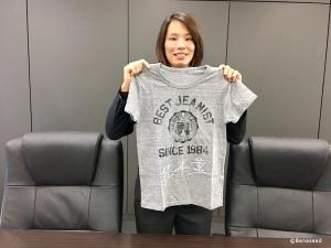 ベネシード松本薫Tシャツ