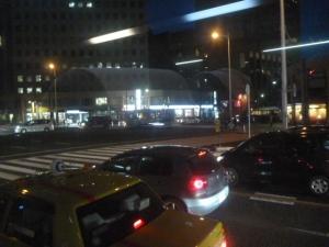 帰りのバスからの仙台市内
