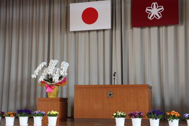 入学式 高校 中学校 小学校 桜 豊川 御津 花屋 花夢
