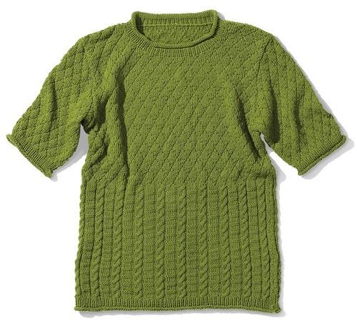 1729ピエロコットンニィートメンズクルーネックニットセーター