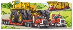 Wir entdecken die Riesenfahrzeuge その2