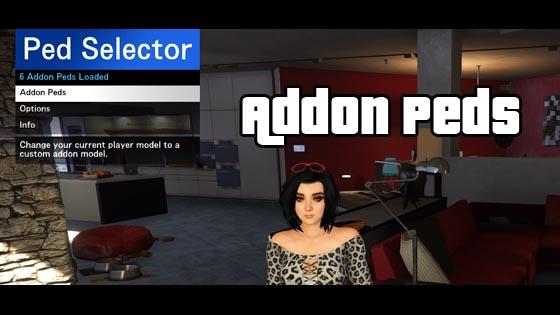 GTA5 Mod】AddonPeds by Meth0d GTA5-Mods(仮)
