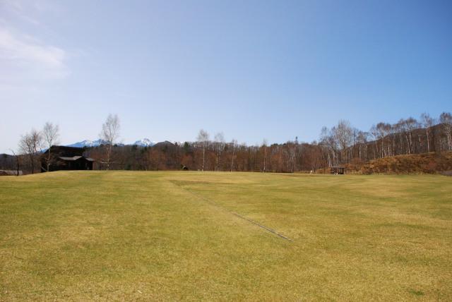 みずがき自然公園の芝生広場
