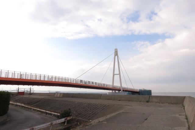 兵庫県尼崎市_武庫川_魚釣り公園_桟橋