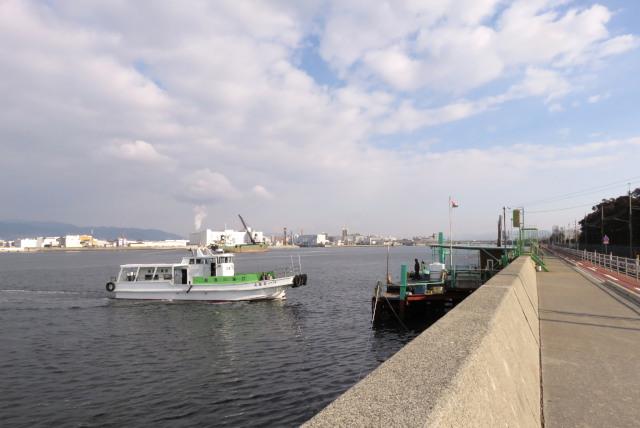 武庫川河口_渡船乗り場