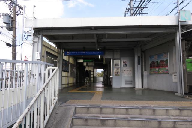阪神電鉄の武庫川駅の改札口