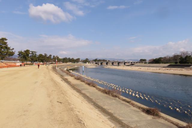 武庫川の河川敷