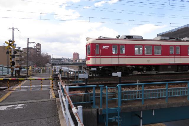 兵庫県三田市_神戸電鉄の踏切