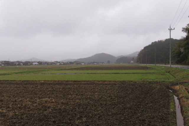 日高町上郷_田畑の風景