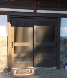 リフォーム玄関引き戸