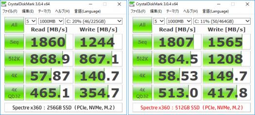 spectre x360 13-ac000_SSD比較_170318_01