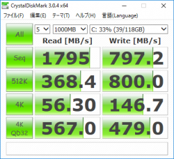 wave 600-a172jp_CrystalDiskMark3_128GB SSD_03