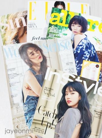 韓国女性誌_2017年4月号_到着_blog_1