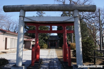 稲荷神社(蓮田市根金)1