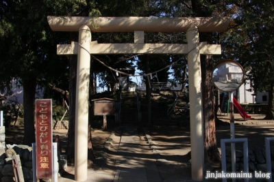 愛宕神社(蓮田市東)2