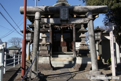 稲荷神社(上尾市原市中)2