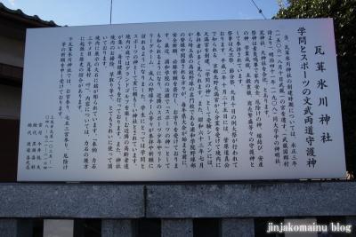 瓦葺氷川神社(上尾市瓦葺)2