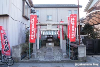 稲荷神社(春日部市粕壁)1