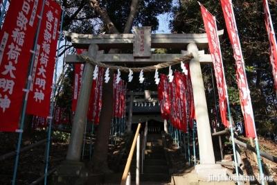 稲荷神社(春日部市粕壁)9