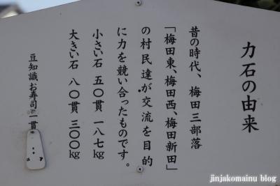 女体神社(春日部市梅田)13