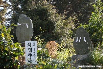 女体神社(春日部市梅田)18