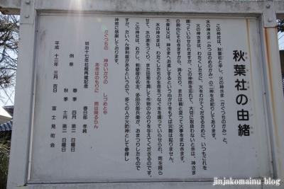 秋葉社(春日部市中央)3
