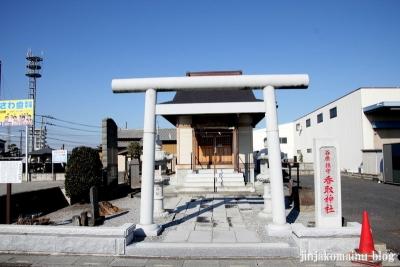 香取神社(春日部市大沼)1