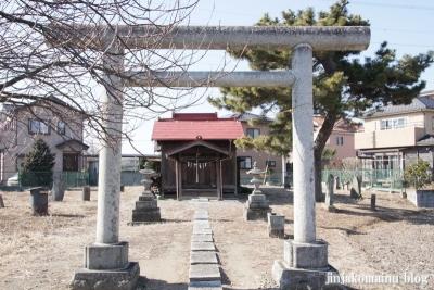神明社(春日部市谷原新田)2