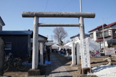 神明神社(春日部市増戸)1