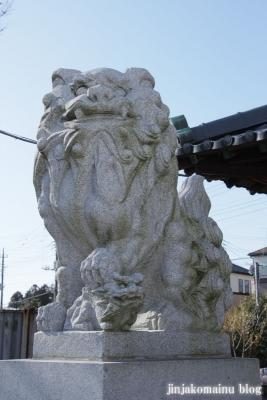 神明神社(春日部市増戸)8