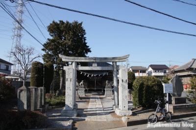 香取神社(春日部市増富)1
