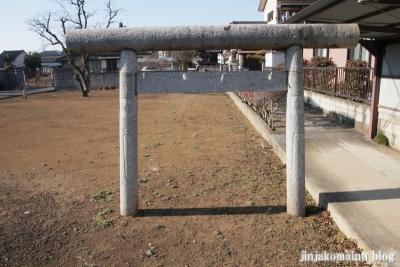 神明社(春日部市南中曾根)1