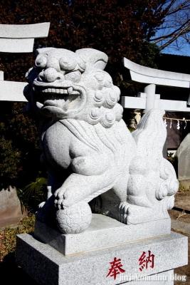 一ノ割香取神社(春日部市一ノ割)19