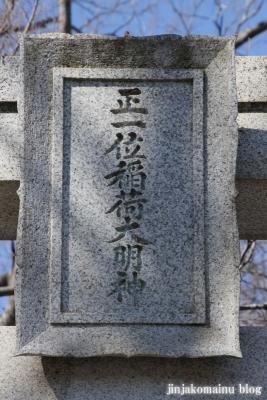稲荷神社(春日部市備後西)2