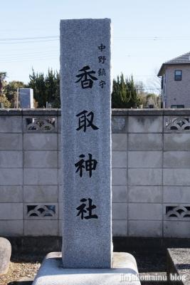 中野神社(春日部市武里中野)2