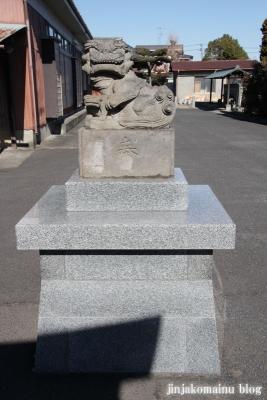 中野神社(春日部市武里中野)13
