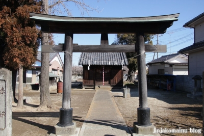 香取神社(春日部市薄谷)3