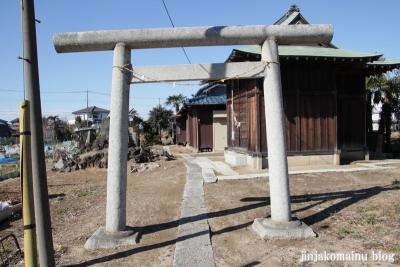 稲荷神社(春日部市大場)2