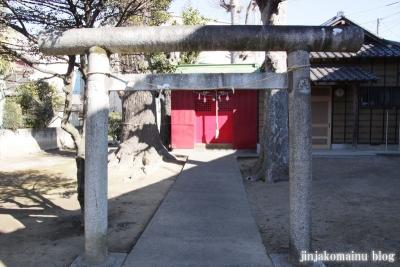武里神社(春日部市大場)2