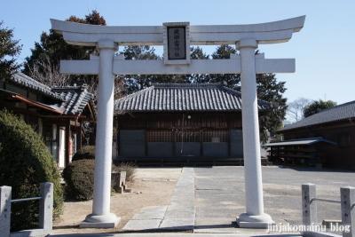 雷電神社(春日部市備後東)3