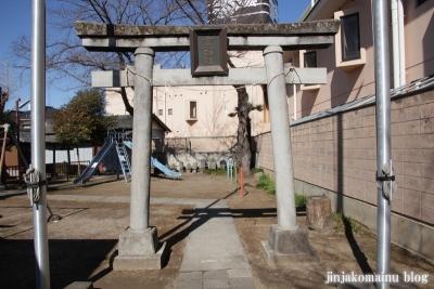 女帝神社(越谷市平方)3