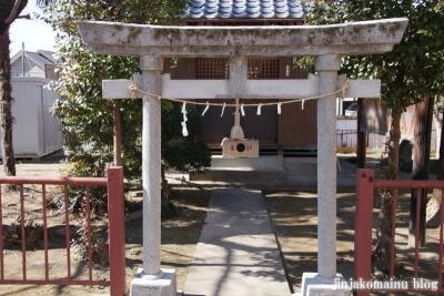 女帝神社(越谷市平方)5