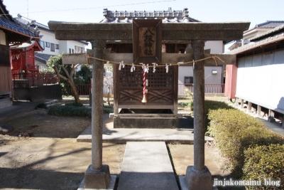 女帝神社(越谷市平方)11
