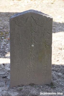 女帝神社(越谷市平方)9