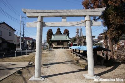香取神社(越谷市大泊)3