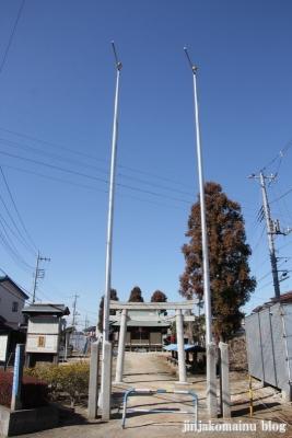 香取神社(越谷市大泊)1