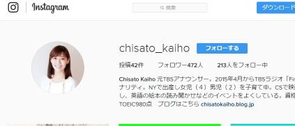 Chisato Kaihoさん(@chisato_kaiho)