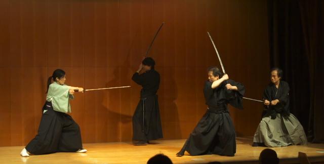 第2回 おかまち演芸会 殺陣 女剣士
