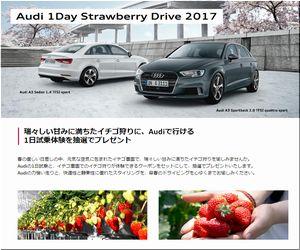 【車の懸賞/その他】:Audi 1Day Strawberry Drive 2017